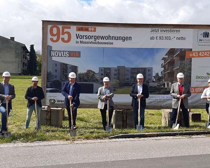Spatenstich Novus Via mit GF ÖKO-Wohnbau_8